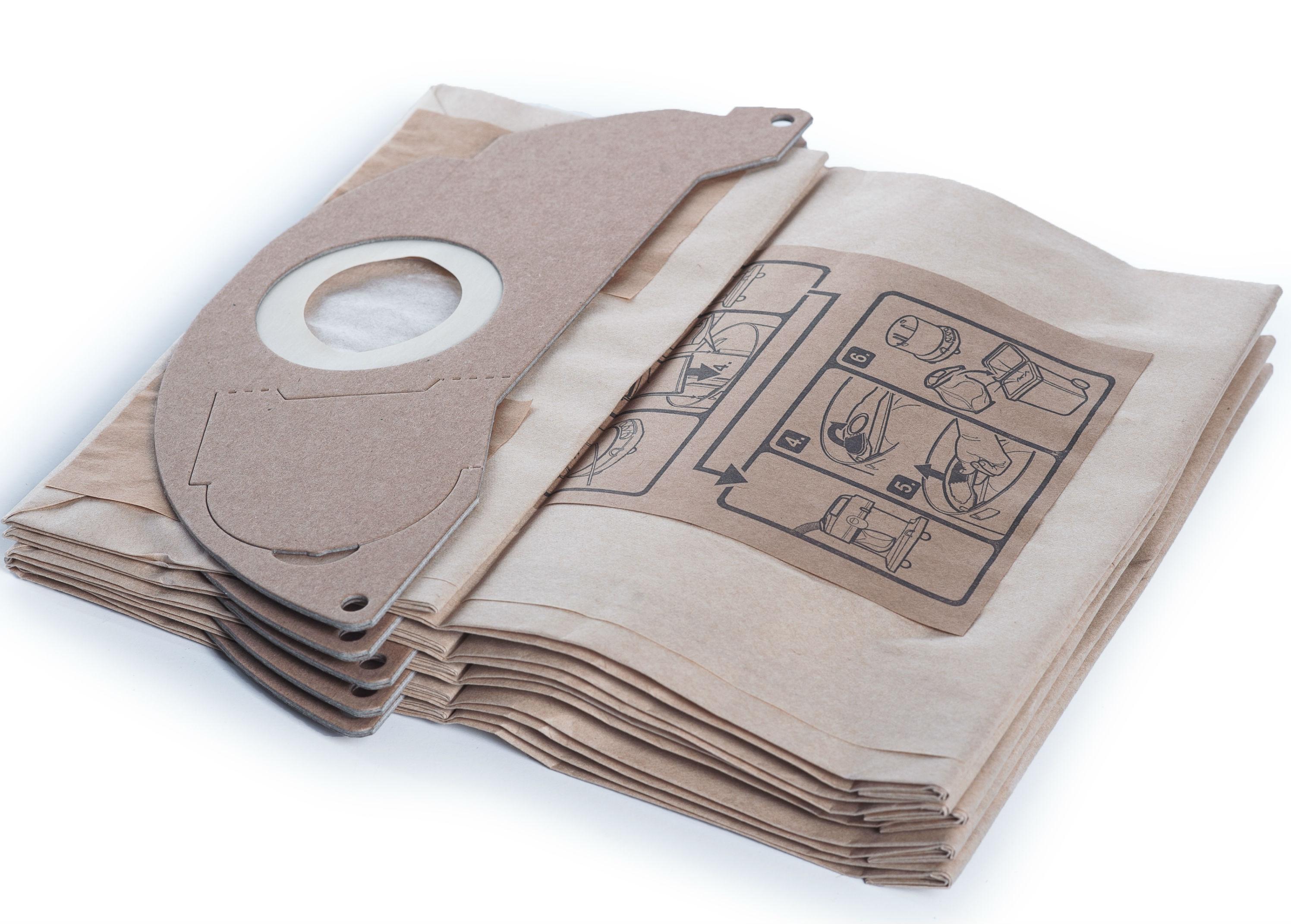 бумажные фильтр мешки Karcher к Wd 2 200