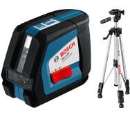 Лазерний нівелір Bosch GLL 2-50 + BS 150- фото