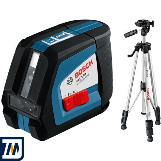 Лазерний нівелір Bosch GLL 2-50 + BS 150 - фото 1