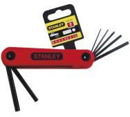 Набір Stanley 4-69-261 з 7-ми торцевих шестигранних складних ключів- фото