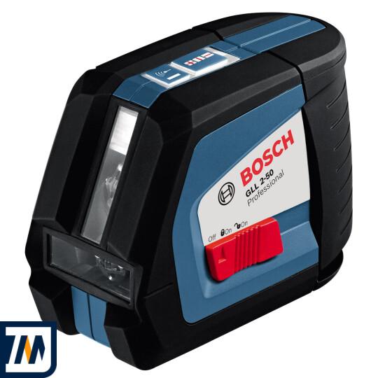 Лазерний нівелір Bosch GLL 2-50 + BM1 + LR2 L-Boxx - фото 2