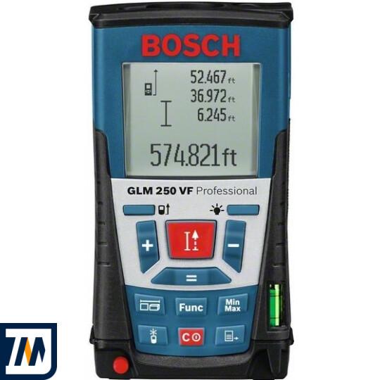 Лазерний далекомір Bosch GLM 250 VF + BS 150 - фото 1