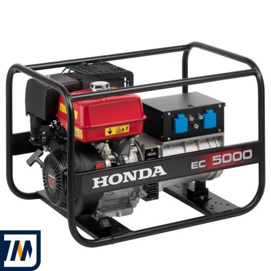 Бензиновий генератор Honda EC5000 - фото 1
