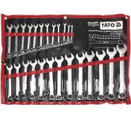 Набір ключів комбінованих 6-32мм, 25шт. Yato YT-0075- фото