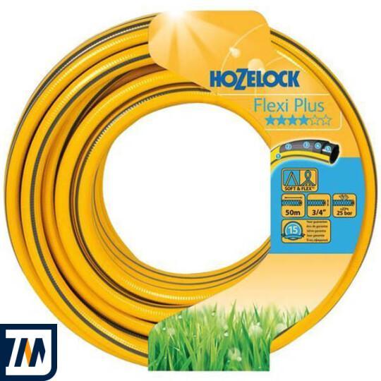 Шланг для поливу 50м Hozelock Flexi Plus 19mm (145152) - фото 1