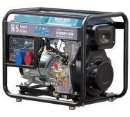 Дизельний генератор KS 9100HDE-1/3 ATSR- фото