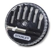 Набір 6-ти вставок і магнітного утримувача Stanley 1-68-738- фото