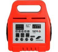 Зарядний пристрій 6/12V 8а 5-20 Ah Yato YT-8301- фото