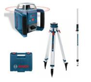 Ротационный лазерный нивелир Bosch GRL 400 H + BT 170 + GR 240- фото