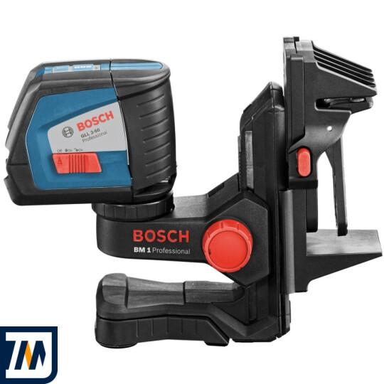 Лазерний нівелір Bosch GLL 2-50 + BM1 + LR2 L-Boxx - фото 7