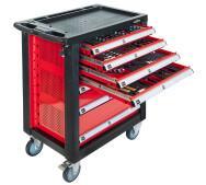 Професійний візок Airpress для інструментів  на 7 шухляд 217 елементів (79156)- фото