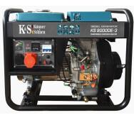 Дизельный генератор Konner&Sohnen KS 8000DE-3- фото