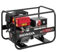 Бензиновый генератор Honda ECT7000- фото