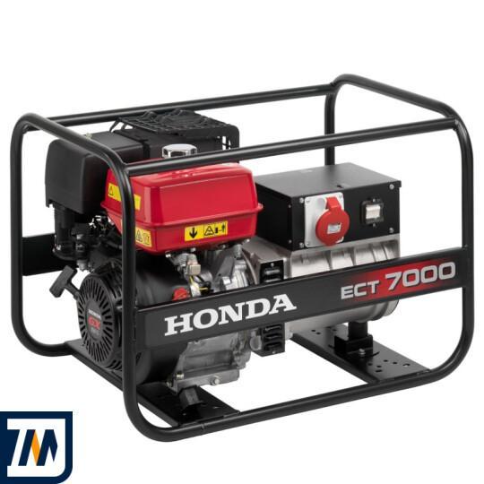 Бензиновый генератор Honda ECT7000 - фото 1