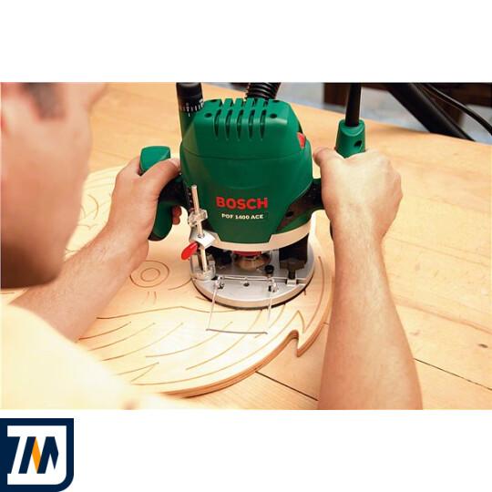Фрезерна машина Bosch POF 1400 ACE + набір фрез - фото 2