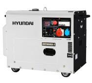 Генератор дизельный Hyundai DHY 8000SE-3- фото