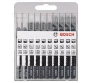 """Набір пилочок Bosch """"X - PRO LINE JSB"""" Set 10шт. (2607010629)- фото"""