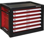 Шафка сервісна Yato  для інструментів на 6 шухляд (YT-09155)- фото