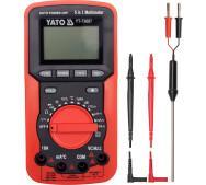 Универсальный цифровой измеритель 5в1 Yato YT-73087- фото