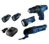 Набір акумуляторних інструментів інструмент Scheppach Akku set L1- фото