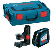 Лінійний лазерний нівелір Bosch GLL 2-50 + BM1 L-BOXX- фото