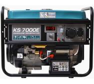 Бензиновый генератор Konner&Sohnen KS 7000E- фото