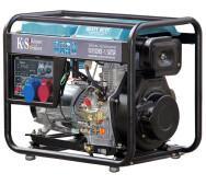 Генератор дизельный Konner & Shonen KS 8100 HDE-1/3 ATSR- фото