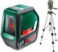 Лазерний нівелір Bosch PLL 2 SET- фото