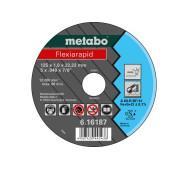 Отрезной диск Metabo Flexiarapid Inox A 60-R, 125 мм- фото