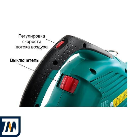 Садовий пилосос-повітродувка Bosch ALS 25 + Рукавички + Сумка - фото 4