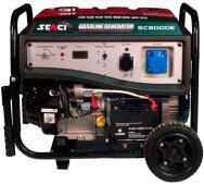 Бензиновий генератор Senci SC8000-EI- фото