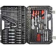 Набір інструментів 1/4, 3/8, 1/2 216пр. Yato YT-38841- фото