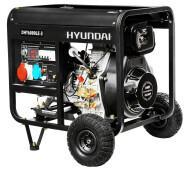 Генератор бензиновий Hyundai DHY 6000LE-3- фото