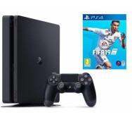 Ігрова приставка Sony Playstation 4 Slim (PS4 Slim) 1TB + Fifa 19- фото