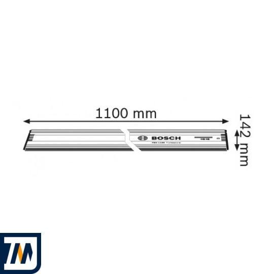 Направляюча для дискової пилки Bosch FSN 1100 (1600Z00006) - фото 2