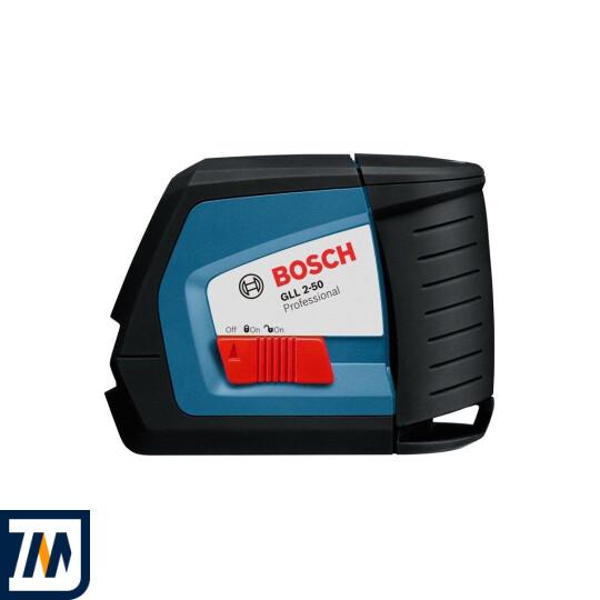 Лазерний нівелір Bosch GLL 2-50 + BM1 + LR2 L-Boxx - фото 3