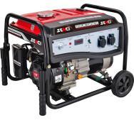 Бензиновий генератор Senci SC5000-EI- фото