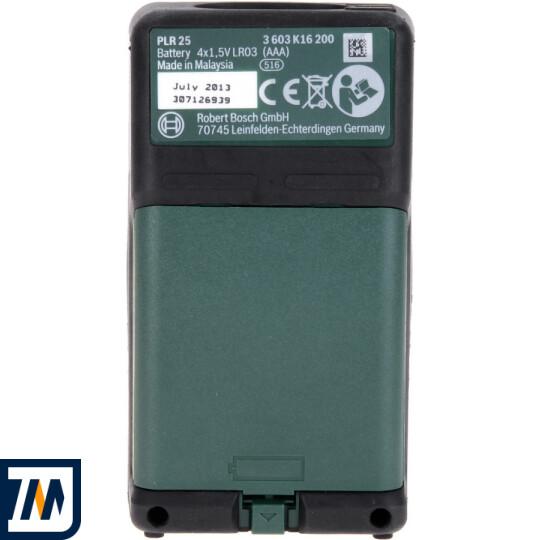 Лазерний далекомір Bosch PLR 25 - фото 3