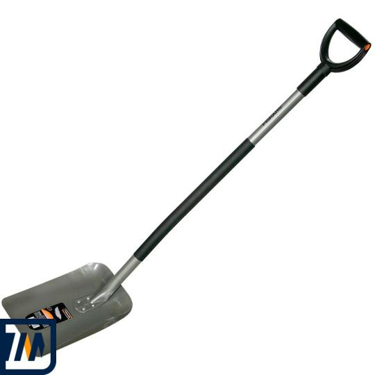 Лопата совковая Fiskars, облегченная (132500) - фото 1
