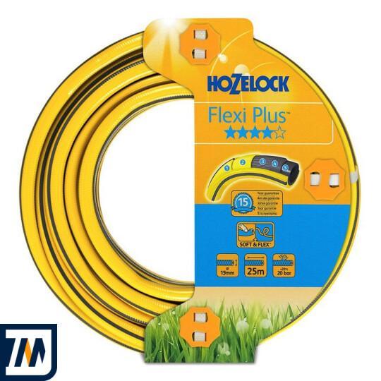 Шланг для поливу 25м Hozelock Flexi Plus 19mm (145150) - фото 1