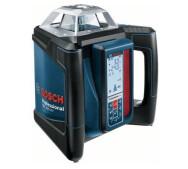 Ротационный лазерный нивелир Bosch GRL 500 HV + LR 50- фото
