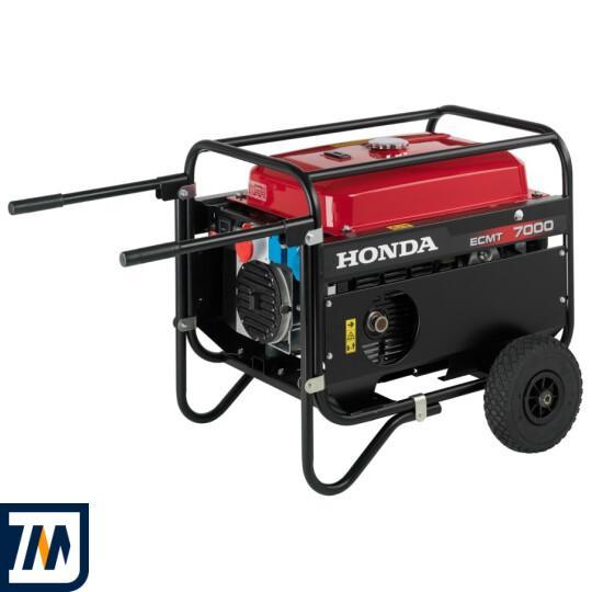 Бензиновый генератор Honda ECMT7000 - фото 1