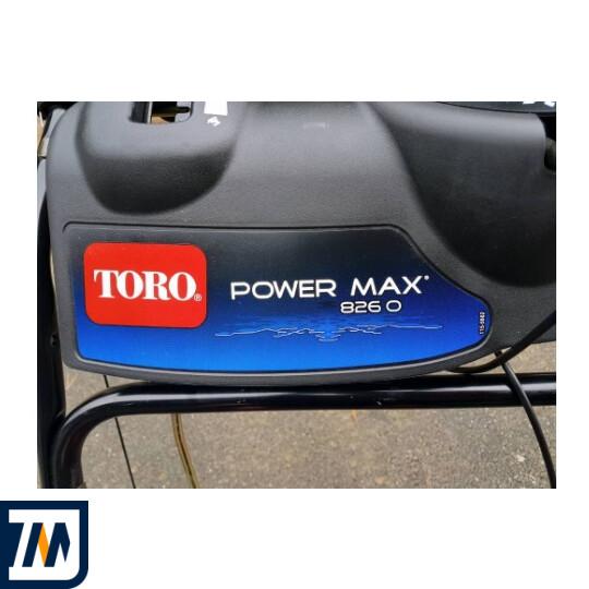 Снігоприбирач TORO Power Max 826 O - фото 5