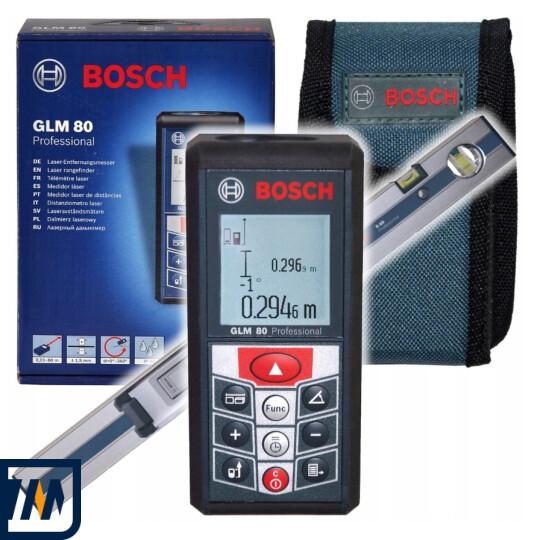 Лазерний далекомір Bosch GLM 80 + R 60 - фото 1