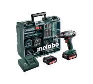 Акумуляторний шуруповерт Metabo BS 14,4 Mobile Workshop- фото