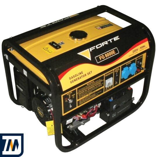 Бензиновый генератор Forte FG8000E - фото 1