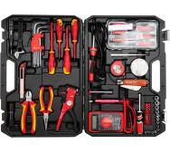 Набір інструментів для електриків 68 пр. Yato YT-39009- фото