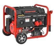 Трехфазный бензиновый генератор Hecht UP GG7300- фото