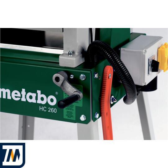 Фуговально-рейcмусний верстат Metabo HC 260 C-2.8 DNB - фото 4