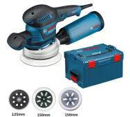 Ексцентрикова шліфмашина Bosch GEX 125-150 AVE L-BOXX- фото
